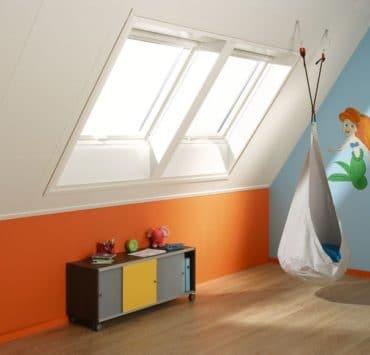 Plafondplaten kamer