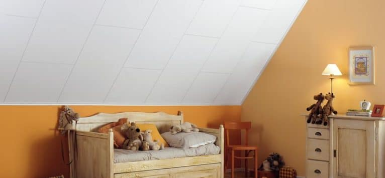 Kinderkamer en Agnes One-Step plafondplaten
