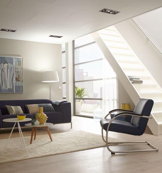 Plafondplaten en spots