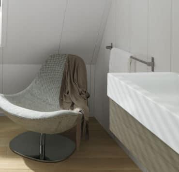 Plafondplaten badkamer | Geen vocht en/of schimmels | Agnes One-Step➀