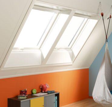 Plafondplaten op zolder of in een kinderkamer