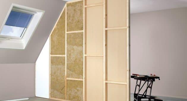 Een kant-en-klare muur is zo gebouwd