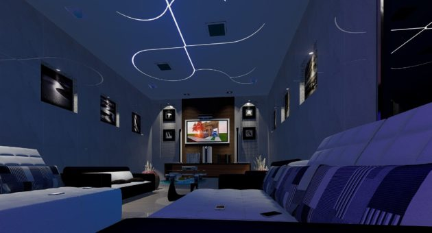 DIY plafond nieuwe look