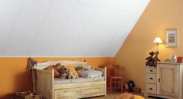 Wand- en plafondplaten van Agnes voor een kinderkamer