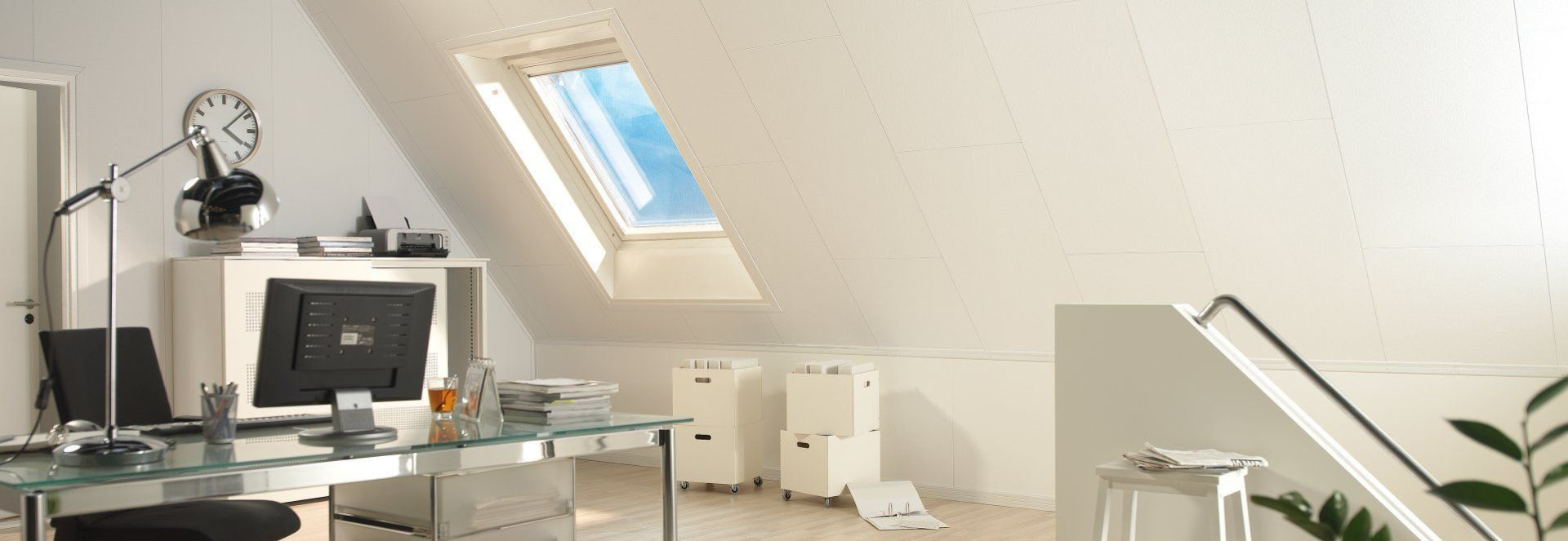 Plafond en Wandpanelen Schuine Wand Agnes One-Step
